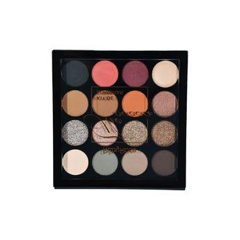 Sombra para ojos, paleta con 15 colores y 1 primer, THE COCOA, RUBY ROSE, 0.7 Y 0.5 gr.