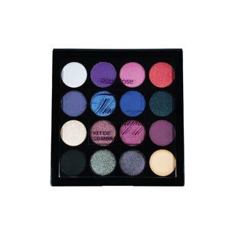 Sombra para ojos, paleta con 15 colores y 1 primer, THE LOLLIPOP, RUBY ROSE, 0.7 Y 0.5 gr.