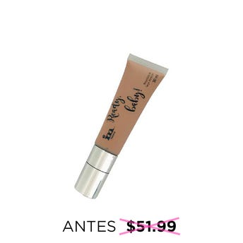 Maquillaje líquido de larga duración READY BABY, IM NATURAL, tono Medium, 30 ml.