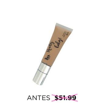 Maquillaje líquido de larga duración READY BABY, IM NATURAL, tono Light, 30 ml