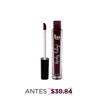 Labial líquido matte indeleble, READY BABY, IM NATURAL, tono Hell, 3 ml
