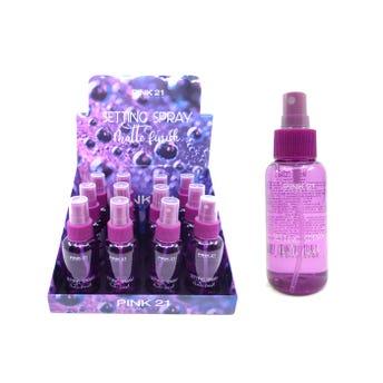 Fijador de maquillaje, PINK 21, 80 ml