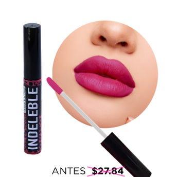 Labial líquido indeleble, QUO NATURONE, rosa francés, 6 grs.
