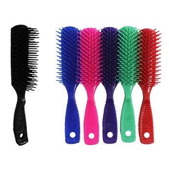 Cepillo paleta, colores firmes, 20 X 3 cm