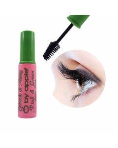 Máscara para pestañas, cepillo pino, SUPER LASH, BY APPLE, Pink & Green mamey, 13 grs.