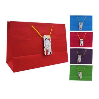 Bolsa para regalo CANDY horizontal colores firmes, 29.5 X 20 cm.