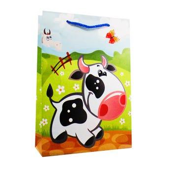 Bolsa para regalo 12 animales bombón, 17.5 X 25.5 X 6 cm.