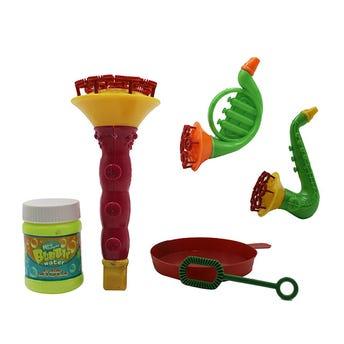 Burbujas instrumentos musicales 15 cm.