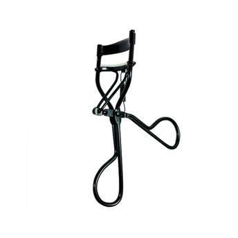 Enchinador para pestañas metálico con resorte, negro.