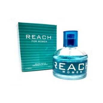 Perfume fragancia REACH for women, inspirado en RALPH LAUREN, 100 ml.