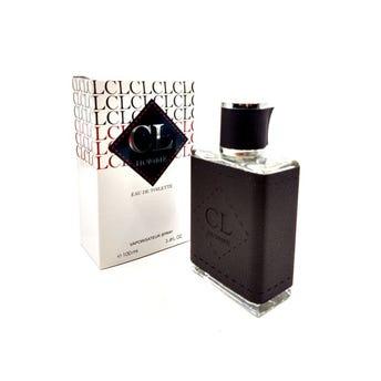Perfume fragancia CL HOMME for men, inspirado en CAROLINA HERRERA, 100 ml.