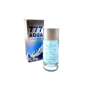Perfume fragancia 777 ACQUA for men, inspirado en CAROLINA HERRERA, 100 ml.