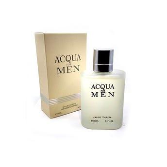 Perfume fragancia ACQUA for men, inspirado en ACQUA DI GIO GIORGIO ARMANI, 100 ml.