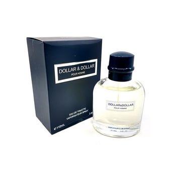 Perfume fragancia DOLLAR & DOLLAR for men, inspirado en Dolce & Gabbana, 110 ml.