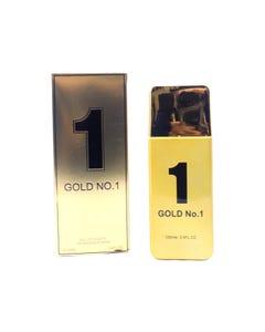 Perfume fragancia GOLD NO°1 for men, inspirado en PACCO RABAN, 100 ml.