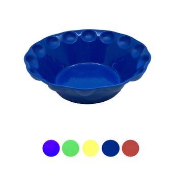 Plato pozolero liso, colores surtidos, 700 ml, 18 x 6 cm
