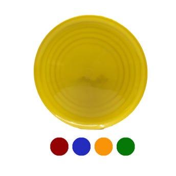 Plato taquero, colores surtidos, 22 cm