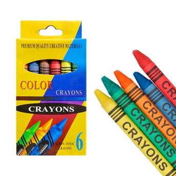 Crayola COLOR, contiene 6 pz.