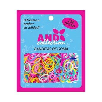 Bolsa De 250 Ligas De Hule Para Cabello And, Pastel.