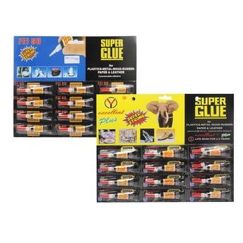 Super Glue Tapa Roja 3 Grs