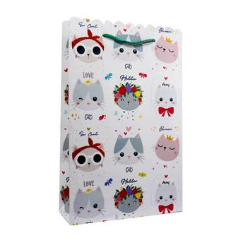 Bolsa para regalo ondulada PETYS, 27.5 X 17.5 cm