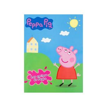 Libro para colorear orig e one peppa pig los amigos de peppa, 16 Pag, 20 x 26.5 cm