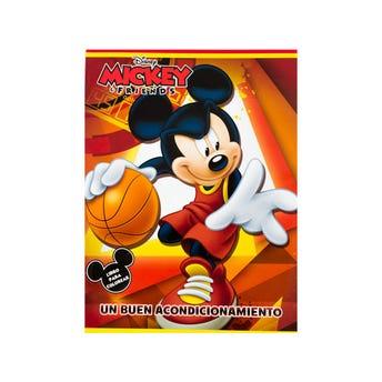 Libro para colorear Orig Disney Mickey Un Buen Acondicionamiento, 16 pag, 20 x 26.5 cm