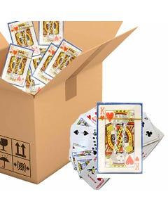 Baraja póker, 8.5 x 5.5 cm, POR CAJA.