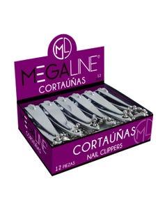 Cortaúñas Megaline, Plata 5.5 Cm.