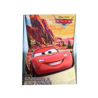 Libro para colorear Orig DISNEY CARS, Carrera a la fama, 16 Pag 20 x 26.5 cm