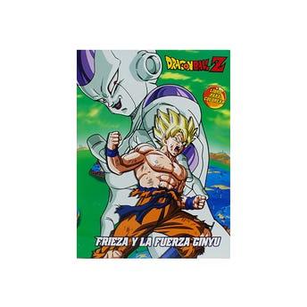 Libro para colorear orig DRAGON BALL Z, FRIEZA Y LA FUERZA DE GINYU, 16pag, 20 X 26.5 cm