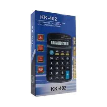 Calculadora de 8 dígitos usa pila AA no incluida 11 X 6.5 cm