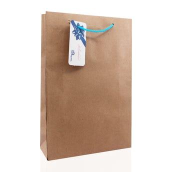 Bolsa para regalo KRAFT JUMBO vertical, 29.5 X 20 cm