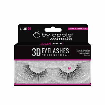 Pestaña Postiza Profesional 3D By Apple # 06 Lilie