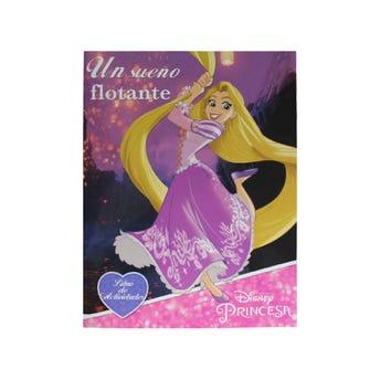 Libro para colorear orig DISNEY PRINCESAS, Un sueño flotante, 16 Pag 20 x 26.5 cm
