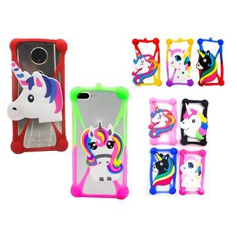 Protector Para Celular De Silicón Decorado Con Unicornios, Colores Y Modelos Surtidos