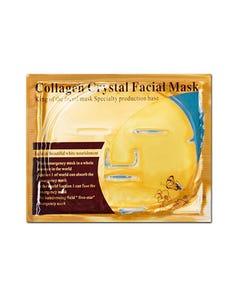 Mascarilla facial de colágeno, dorada, 60 grs.