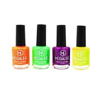 Esmalte para uñas matte HALLOWEEN MEGALINE, colores surtidos # 01, 16 ml.