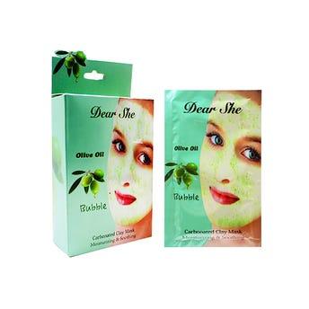 Mascarilla facial carbonatada, aceite de olivo para una piel libre de imperfecciones 12 grs.