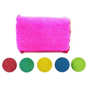 Fibra para trastes colores surtidos sujetos a disponibilidad 12 X 8 cm.