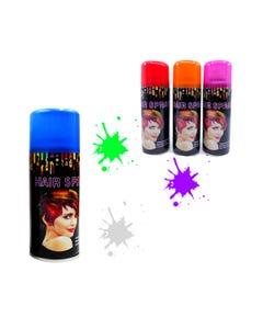 Pintura temporal para cabello en spray, colores surtidos, 80 grs.
