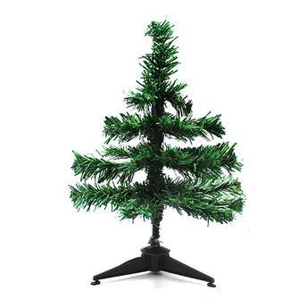 Árbol artificial de navidad, verde, 30 cm.