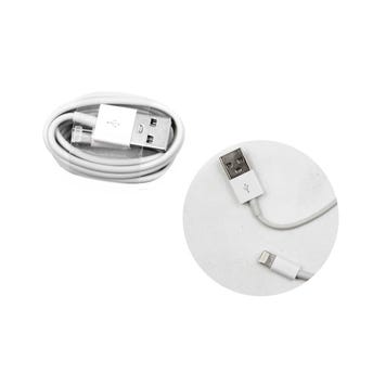 Cable Usb Para Iphone, Blanco, 90 Cm.
