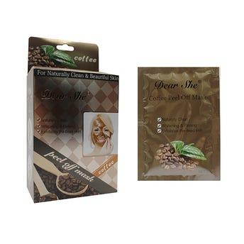 Mascarilla facial de café estimula el flujo sanguíneo en tu piel, 20 grs.