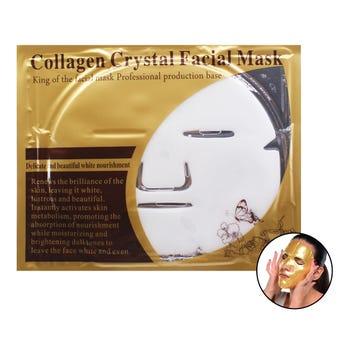 Mascarilla facial de colágeno, blanca, 60 grs.
