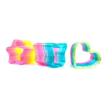 Juguete gusano, tornasol, modelos surtidos, inner por precentación sujeto a disp, 5 x 5 cm.