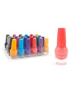 Esmalte para uñas, SANIYE, colores surtidos, 9 ml.