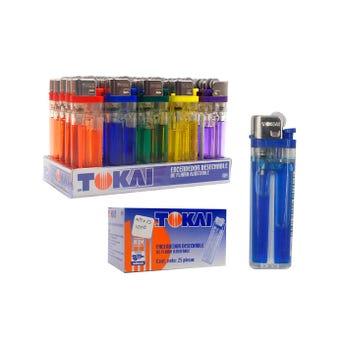 Encendedor, Tokai, Colores Translúcidos.