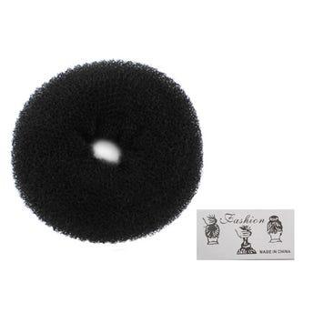 Dona chonguera negra, 30 grs, 13 X 5 cm aprox.