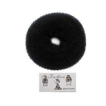 Dona chonguera, negra, 8 X 3 cm aprox.